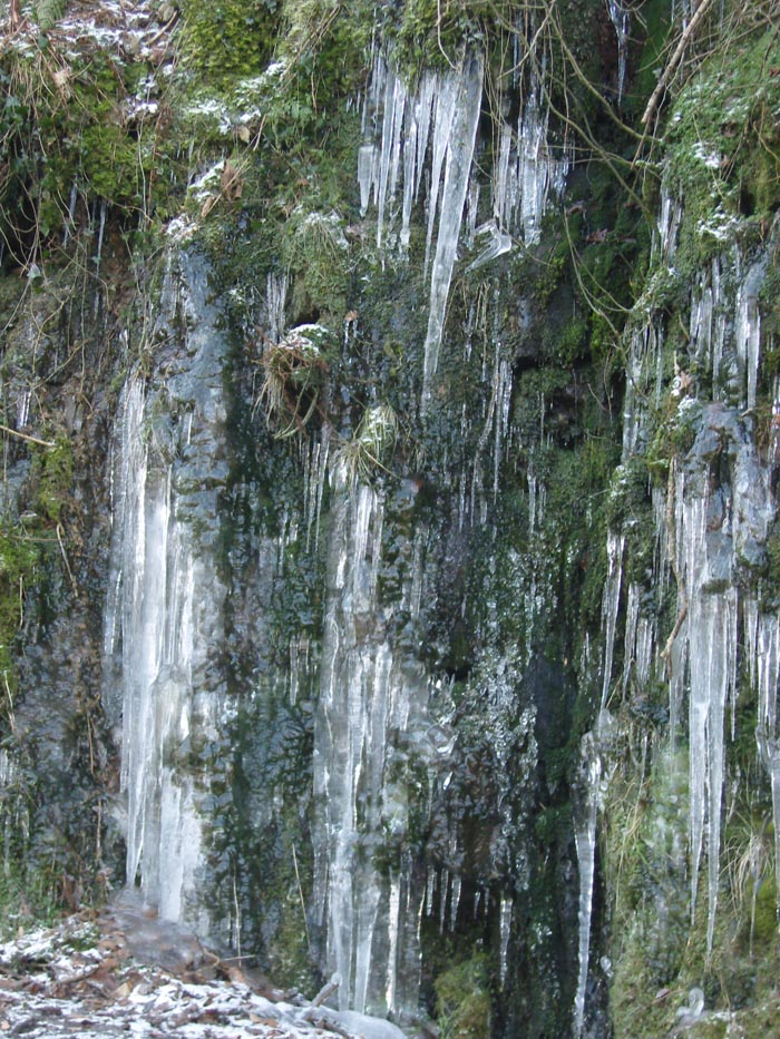 Why it's called Icicle Corner