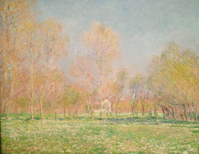 Spring In Giverny, by Claude Monet, 1890