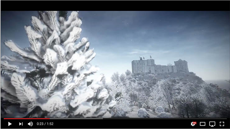 Vivid Virtual Reality's Criccieth Winter Wonderland
